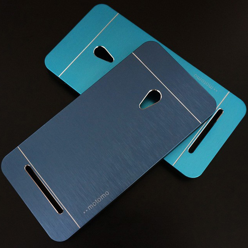 Deluxe Motomo brushed Aluminum hybrid plastic 2 IN 1 Metal case for ASUS zenfone 5 lite 4 5 6 armor back cover bags coque skin(China (Mainland))