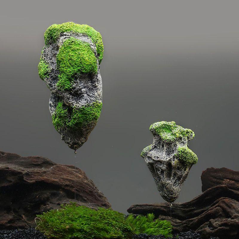 Online buy wholesale aquarium floating rocks from china for Landscaping rocks for aquarium