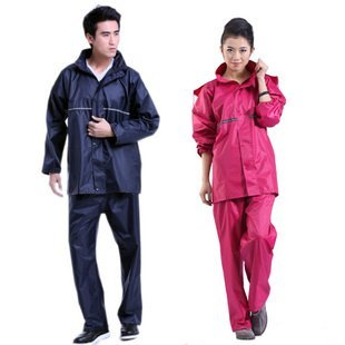 [Free Shipping] Motorcycle Electric Vehicles 168 Fashionable Men And Women Split Riding Raincoat Rain Pants Suit