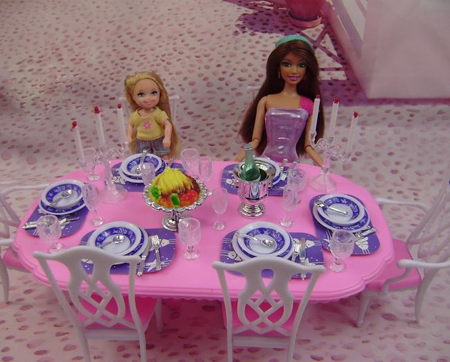 Посуда для куклы барби