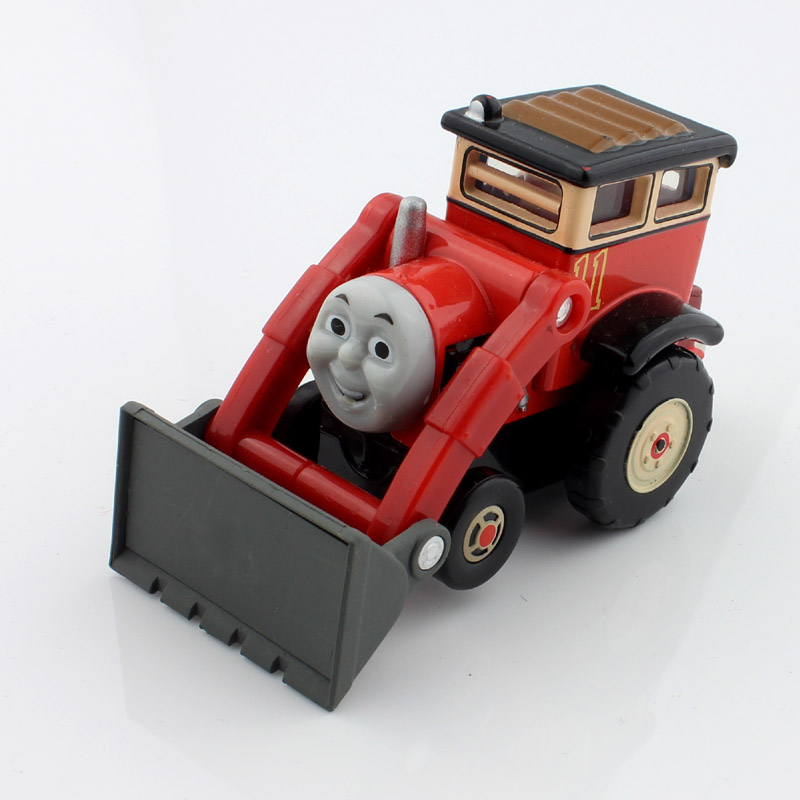 Jack children thomas and friends trains track bulldozer metal diecast models the engine train miniaturas toys gifts for kids(China (Mainland))