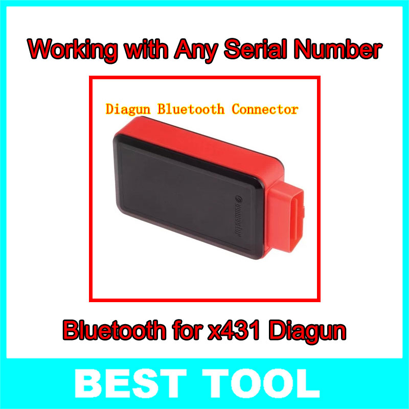 Best Price X431 Diagun Bluetooth Connector Can Work Serial Number - best tools store