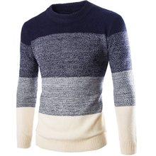 Men Sweater 2016 Winter New Fashion Casual Slim Fit Pull Homme O Neck Long Sleeve Knitted Pullovers Sweater Plus Size(China (Mainland))
