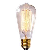 Ampoules à incandescence Vintage droite Filament de tungstène Edison ampoule 40 W 110 V / 220 V livraison gratuite 2015 New Hot vente ST64(China (Mainland))