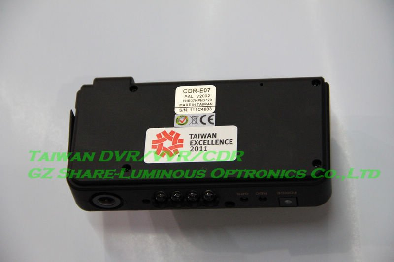 2CH Dual Lens DVR Vehicle Recorder with Night Vision/170 Degree View Angle/VGA CMOS Sensor Car Black Box Camera Free Shipping!(China (Mainland))