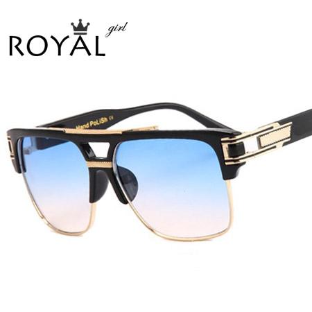 TOP Quality Luxury Men Brand Sunglasses Vintage Oversize Square Sun Glasses Women shades ss465(China (Mainland))