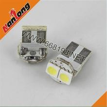 100 pcs T10 194 168 W5W attacked 2led 2smd 2 LED 5050 SMD  car Side Wedge car 12 V lmpada lampadas Indicator Light(China (Mainland))