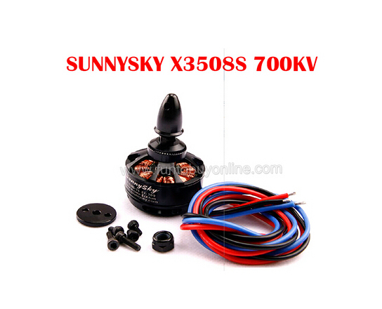 SUNNYSKY X3508S 700KV Outrunner Brushless Motor for Multi-rotor (4S),mini quadcopter gopro aerial multicopter(China (Mainland))