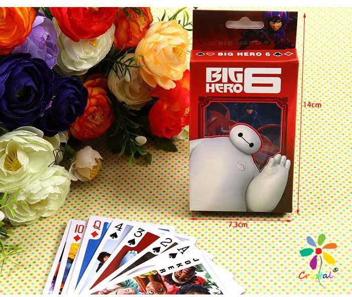 [كريستال] كبير بطل 6 لعب البوكر بطاقات الترفيه للحزب أنيمي كاريكاتير حرف الجملة والشحن مجانا(China (Mainland))