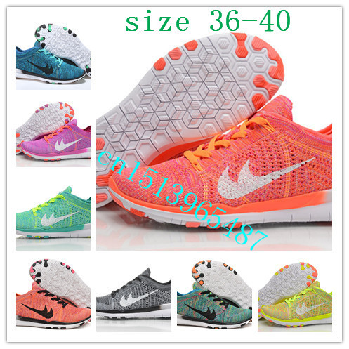 EUR Size 36-45 2015 new 5.0 free run tr flyknits running shoes men's women's fashion design sports shoes fly line Knit sneakers(China (Mainland))
