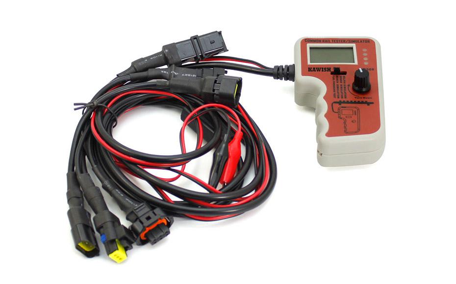 CR508 Diesel Common Rail Pressure Tester and Simulator for Bosch/Delphi/Denso Sensor Test Tool(China (Mainland))