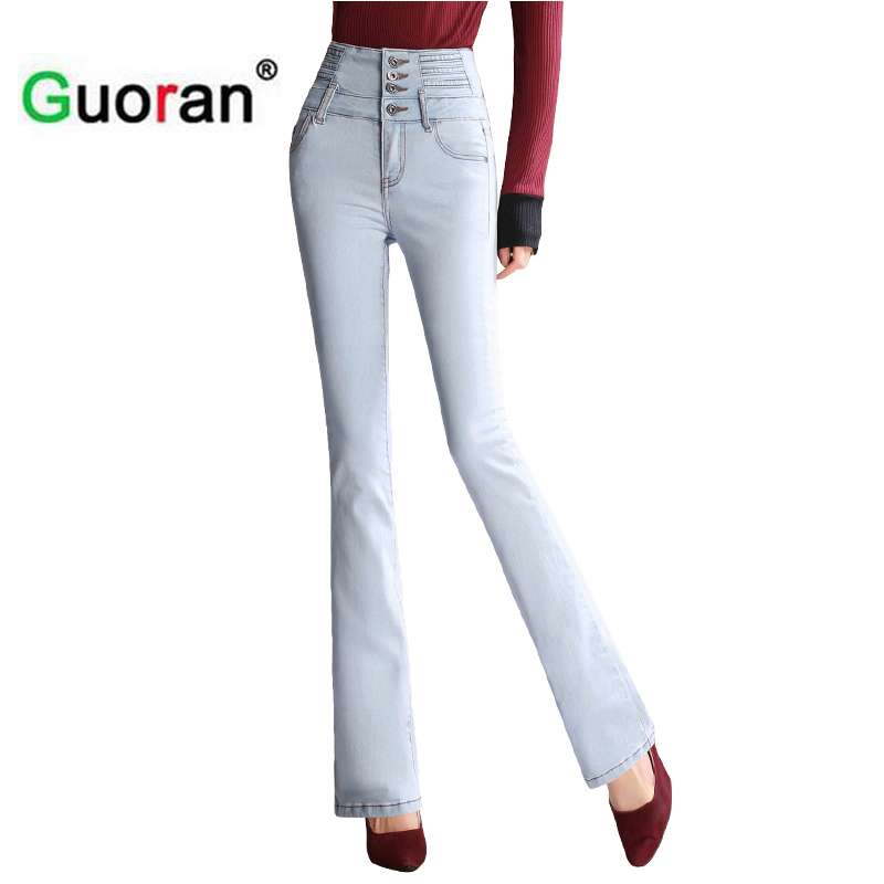 Online Get Cheap White Flare Jeans for Women -Aliexpress.com