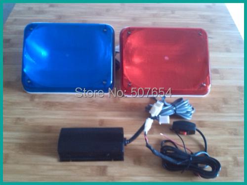 High quality DC12V 18W Xenon tube strobe headlight,Emergency light,warning light with control box,2pcs/set<br><br>Aliexpress