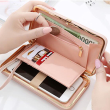 High quality women purse casual wallet female card holders cellphone pocket gifts for women money bag clutch Portefeuille XD3681(China (Mainland))