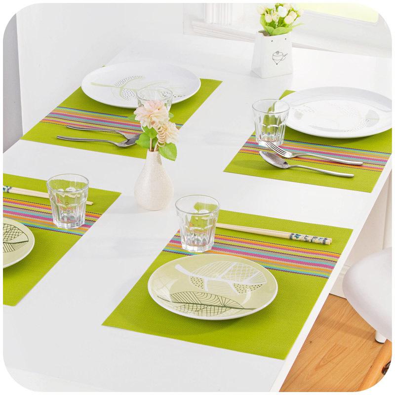 45x30cm Continental Tableware Mat Dinner Mat Dining Mats