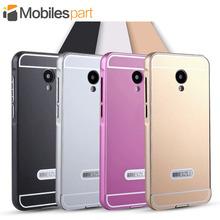 Meizu M2 Mini Case Aluminum Housing Metal Frame & Acrylic Protective Back Cover Case for Meizu M2 Mini 5.0inch Smartphone