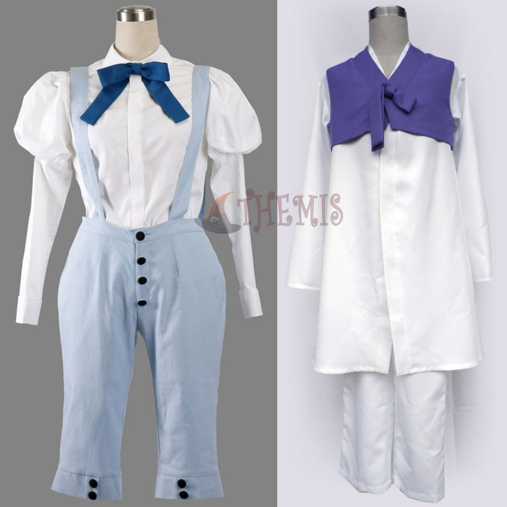 Athemis New Hanbok Axis Powers Hetalia/APH Cosplay Costumes Loose and Casual Clothes Light Blue Overalls OutfitОдежда и ак�е��уары<br><br><br>Aliexpress