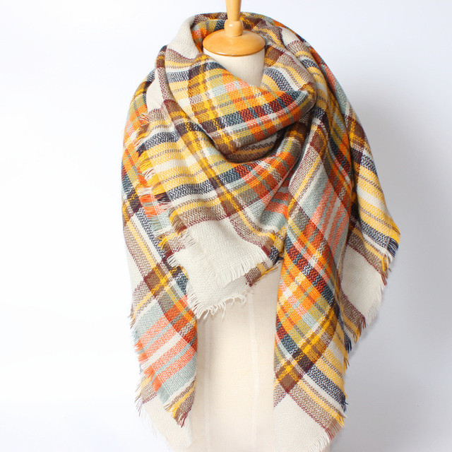 2016 новое поступление зима мода женщин евро сочетание цветов лоскутная за марка стиль 140 см * 140 см площади толстые теплый шарф кисти шали