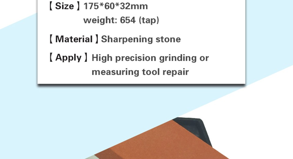 Buy DMD Oilstone Knife Whetstone Double Sided Coarse and Fine 600 1500 Grits Sharpening Stone Free shipping cheap