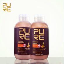 Purc шампунь и кондиционер для роста волос и выпадение волос 300 мл комплект предотвращает преждевременное истончение волос для мужчин и женщин(China (Mainland))