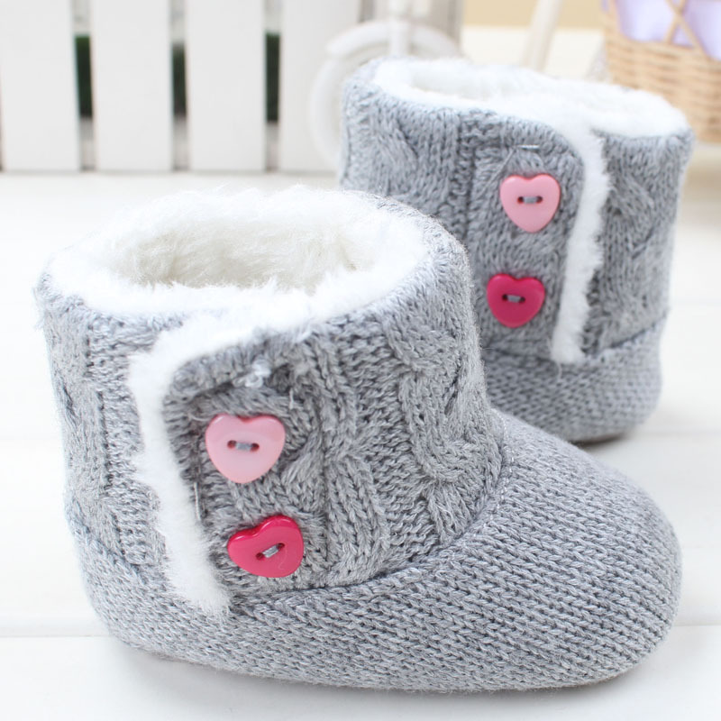 New Fashion Children Princess Baby Shoes Cotton Padded Baby Boots Infant Toddler Boy Girl's Bebe First Walkers Shoes(China (Mainland))