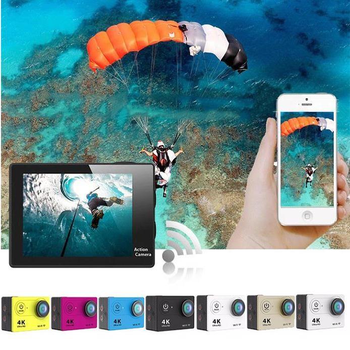 Original High Quality H9 4K HD Sport Action WIFI Waterproof Video Camera Helmet Bike Cam DV Camcorder Professional Video Camera