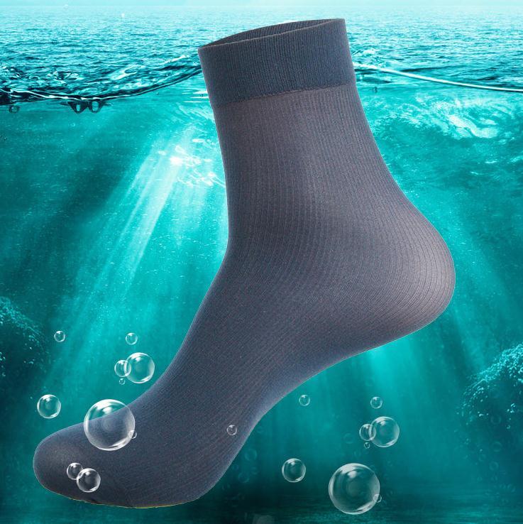 Free Shipping 20 pairs/lot Men's bamboo fiber nylon Socks Extra thickness extra elastic 16g/pair summer man high quality sox(China (Mainland))
