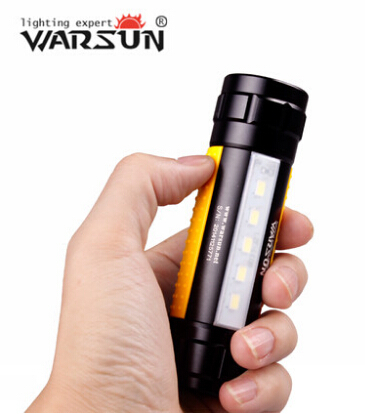 2015 Mini Pocket Portable rechargeable 18650 Torch CREE Q5 LED Flashlight with Strap Pen Clip Magnet for Indoor Outdoor camping(China (Mainland))