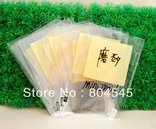 100 PCS Clear protector Flim For New Apple Mini iPad Screen Protector(China (Mainland))