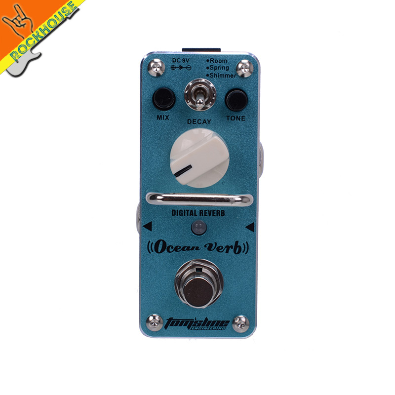 Reverb Guitar effects pedals Reverb effect pedal guitarra pedal Reverb modulation effects Beautify the tone free shipping