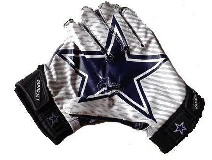 Cowboys gloves Vapor Jet 2.0 On Field Gloves high quality football gloves Bryant #88 wholesale free shipping(China (Mainland))