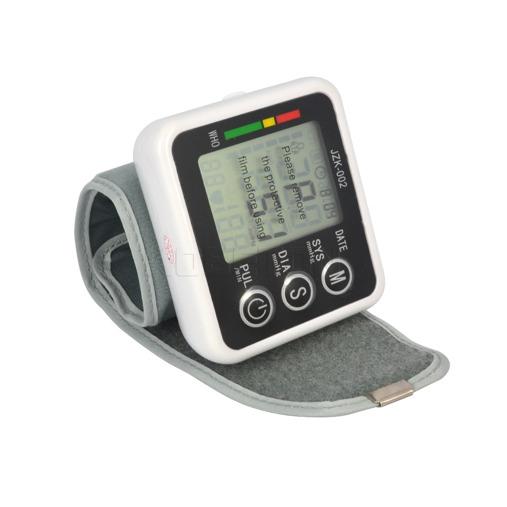 Blood Pressure Wrist Monitor Germany Chip Health Care Automatic Digital Home Meter Tonometer Measure Sphygmomanometer