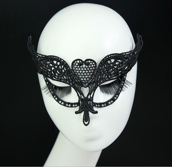 2016 New Sexy Black Eye Lace Mask Women Men Masquerade Wedding Face Mask Fancy Dress Nightclub Venetian Party Dress Ball Masks(China (Mainland))