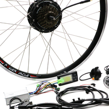 Buy 36V 250W Rear Hub Motor Electric Bicycle Conversion Kit LED Display Electric Bike Motor 36V Ebike LCD e-bike Kit Battery for $302.40 in AliExpress store
