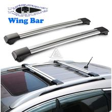 Universal Car Roof Rack Cross Bars Off Road SUV Roof Luggage Carrier Box Aluminum Auto anti-theft Lock 150 LBS Snowboard Cargo(China (Mainland))