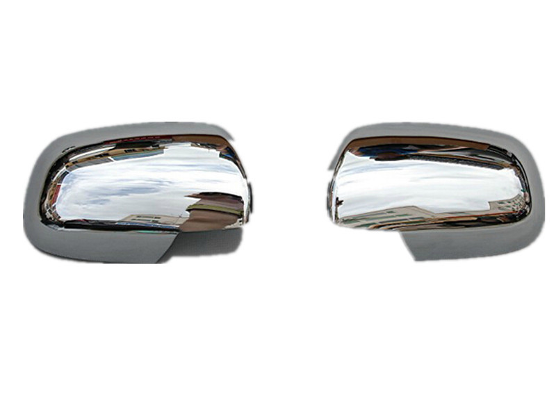 Car Accessories Side Mirror Cover Rearview Mirror Cover Trim For Toyota Corolla 2008 2009 2010 Abs Chrome 2Pcs Per Set(China (Mainland))