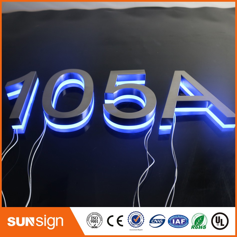 Popular illuminated house numbers buy cheap illuminated Led house numbers