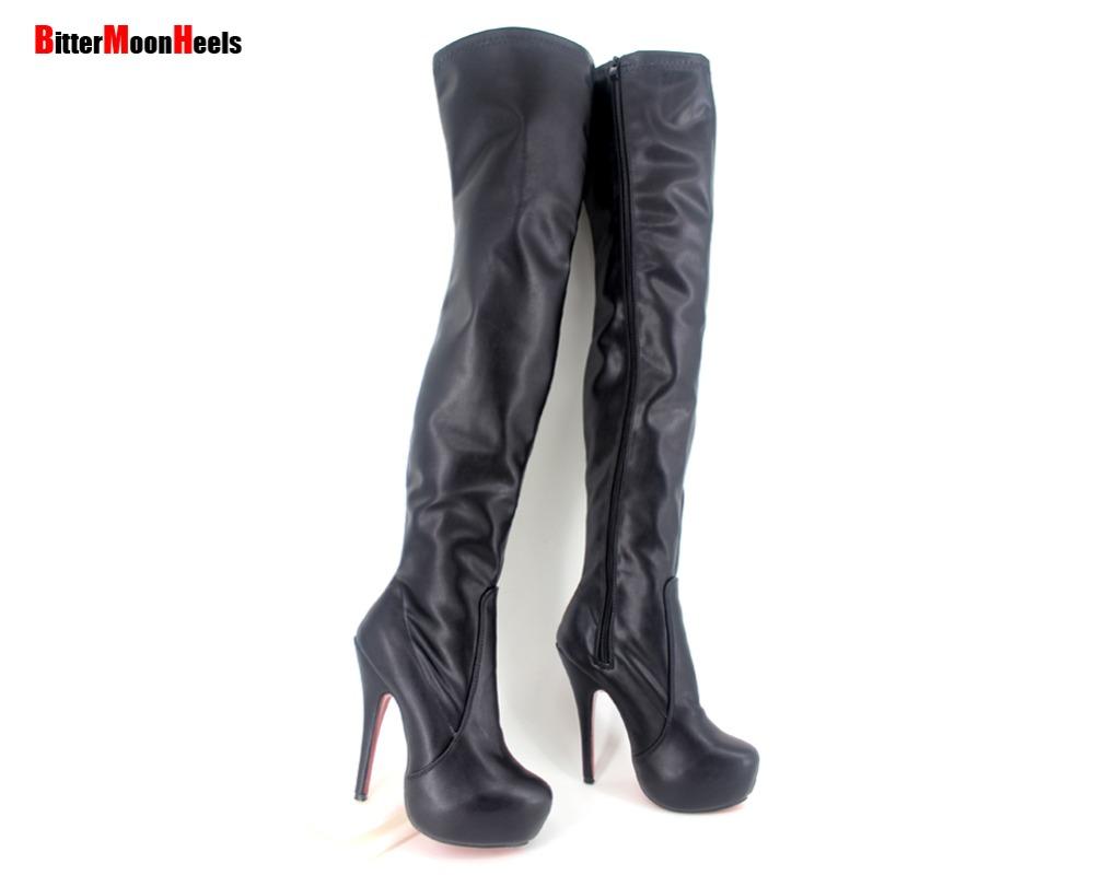 aliexpress buy 5 5 inch heel plus size36 46