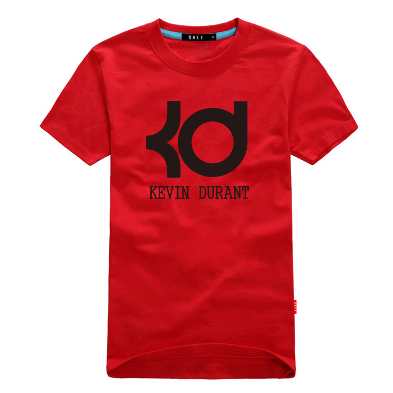 Kevin durant basketball t shirt jersey cheap loose 6XL 5 4 best on sale letter KD men tops tee football basic daily boys summer(China (Mainland))