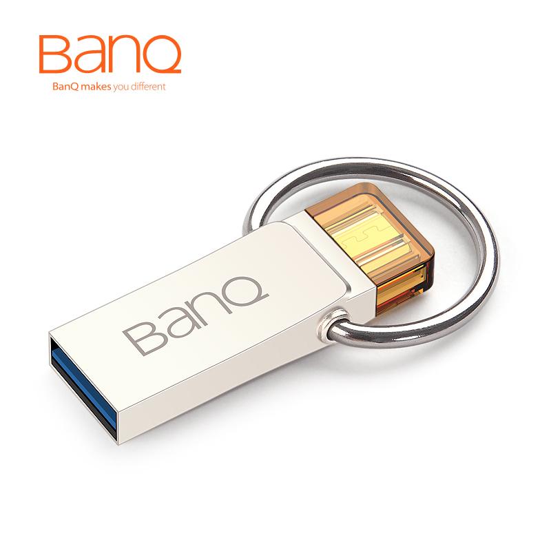 BanQ T90 OTG USB 3.0 100% 32GB Smart Phone Tablet PC USB Flash Drives OTG External Storage Micro 32G Pen Drive Memory Stick(China (Mainland))