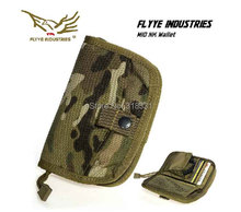 Genuine FLYYE PH-A025 1000D CORDURA Waterproof Nylon EDC Tactical Mens Wallet Travel Card Wallets Outdoor Sport Money Wallets(China (Mainland))