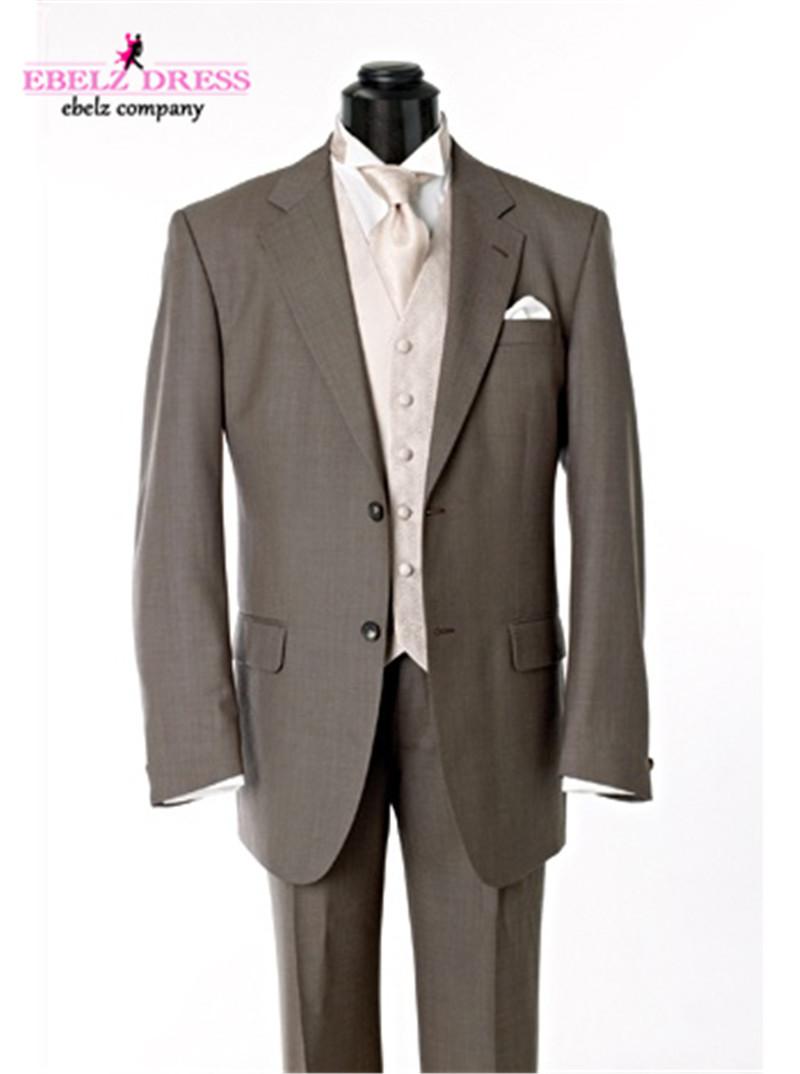 2015 custom made suit tweed mens slim fit