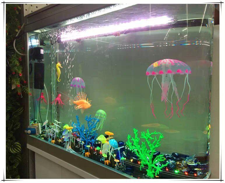 Jellyfish Fish Tank Decoration Artificial High Quality Ebay