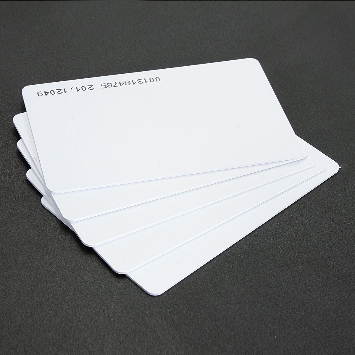 5Pcs RFID 125khz Card Proximity ID Access control EM4100 EM4200(China (Mainland))