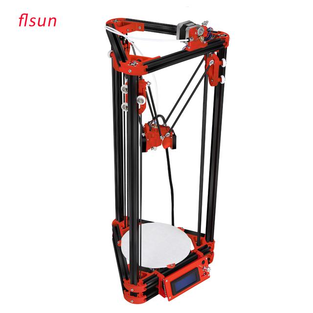 2016 Новейший Алюминиевый Структура DIY Kit 3d-принтер, коссель 3D Принтер С Одного Рулона Нити 8 ГБ SD Карты