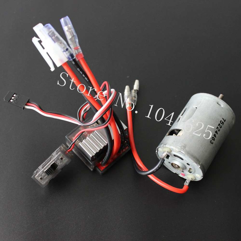 Hi Speed 03011 RS540 26 Turn Brushed Electric Engine Motor 540+320A Brush ESC For RC HSP 1/10 Speed Controller Fit Himoto Redcat(China (Mainland))