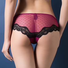 Women Sexy Lace Panties   Women's Low Waist Cotton Briefs Underwear  Thongs  sexy lace underwear women(China (Mainland))