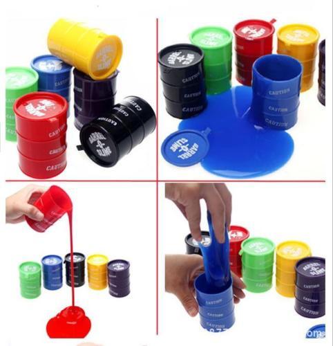 1 Pcs Random Color New Barrel Slime Fun Shocker Joke Gag Prank Gift Toy Crazy Trick Party Supply Paint Bucket Novelty Funny Toys(China (Mainland))