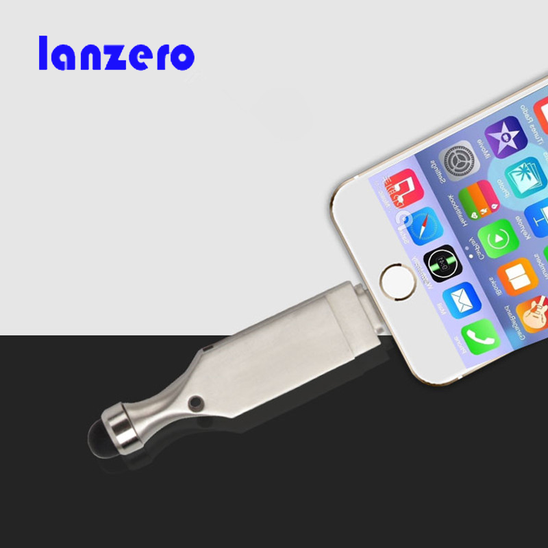 New USB Flash Driver HD U-disk Lightning data for iPhone/iPad/iPod,micro usb interface flash drive for PC/MAC 8GB/16GB/32GB/64GB(China (Mainland))