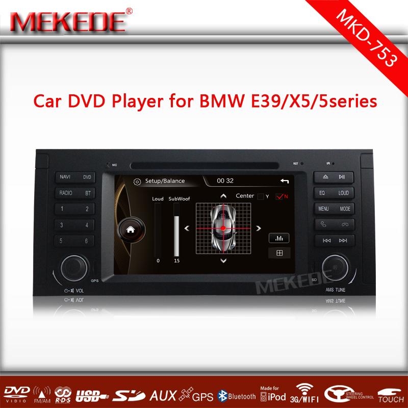 2din 7inch touch screen Car Multimedia player For 5 Series E39 E53 X5 M5 built-in 3G wifi USB host Multilingual menu()